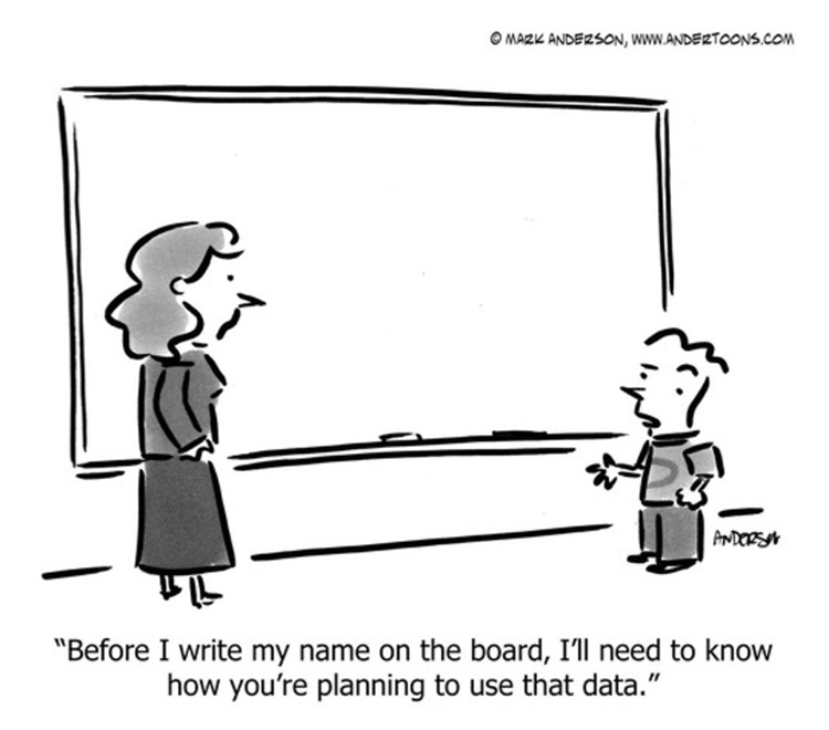 BVS Blog Image - Child at chalkboard speaking to teacher